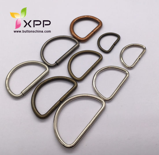 High Quality Metal D-Ring for Bag or Garments