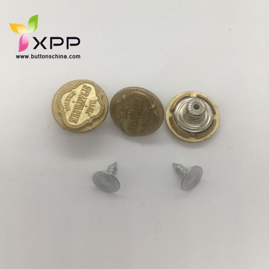 New Style Brass Jean Button for Jeans
