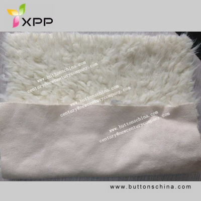 Sherpa Fleece Fabric with Faux Suede Fabric