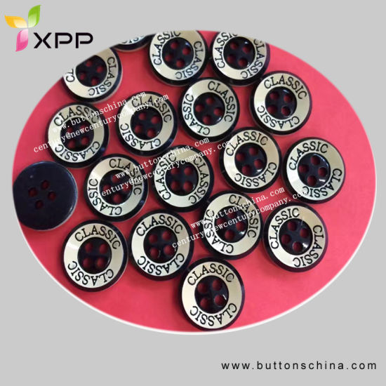 2017 Fashion Shirt Button with Logo