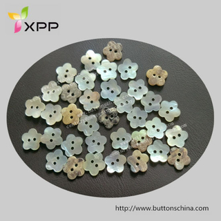 Flower Shape Agoya Shell Button
