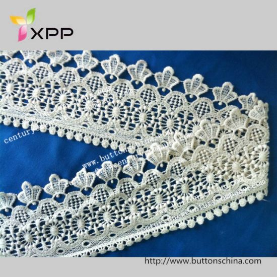 Water Solution Embroidery Garment Accessories Crochet Lace Trimming