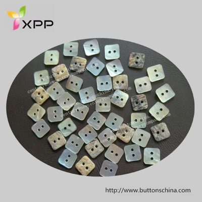 2 Hole Square Agoya Shell Button