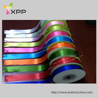 Slit Edge Satin Ribbon Cutting Tape for Label and Sewing Edge