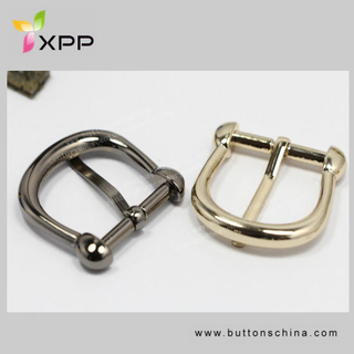 Pin Style Plated Buckle for Fashion Garment and Bag
