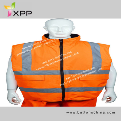 010 High-Vis Reflective Vest with Pocket