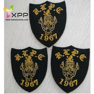 Customized Top Quality Fashion Indian Brass Patch for Garment