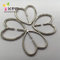 Alloy Heart Buckle for Decoration Garments or Bag