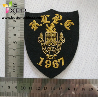 Bullion & Silk Patches Embroidered Patch