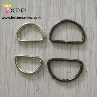Brass Metal D Ring for Bag