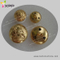 Golden Brass Cover Sewing Button