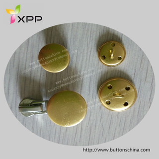 15mm 21mm Metal Button Brass Button for 2.0g/PCS 1.42g/PCS
