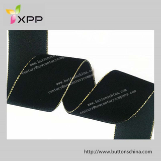 Velvet Tape with Gold Lurex