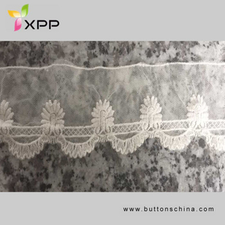 Flower High Quality Embroidery Lace for Wedding Dress