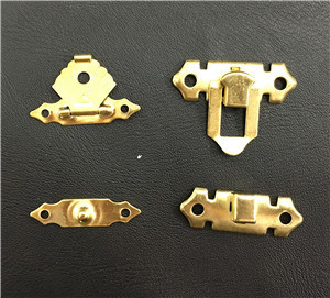Alloy Golden Color Box Lock