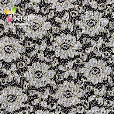 Scalloped Allover Lace Fabric Nylon Swiss Lace for Dresses