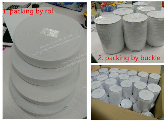 New Style 100% Cotton Tape with Folded Line in Middle